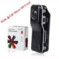 New MD80 Mini DV Camcorder DVR Video Camera Webcam Build In 4GB HD Cam Sports Helmet