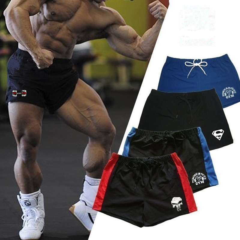 Workout Shorts Fitness Bodybuilding Cotton 20-Style Summer Gym Joe Seven New-Brand