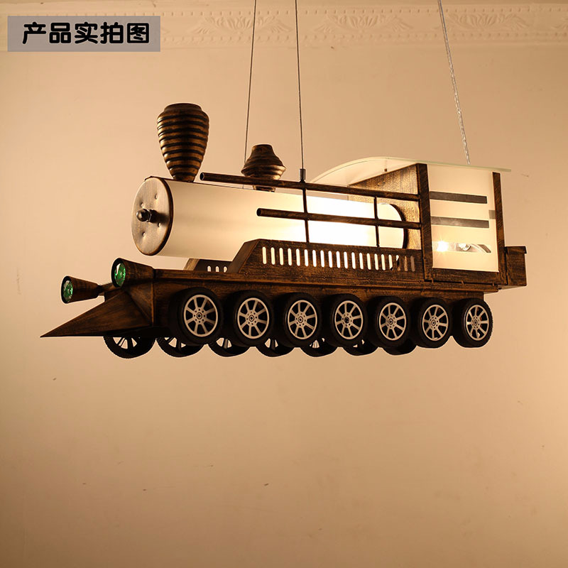 Pendant Lights Fast Deliver Science Fiction Train Children Bedroom Lamp Droplight Personality Boy Baby Room Fashion Car Droplight With Manufacturer Lights & Lighting