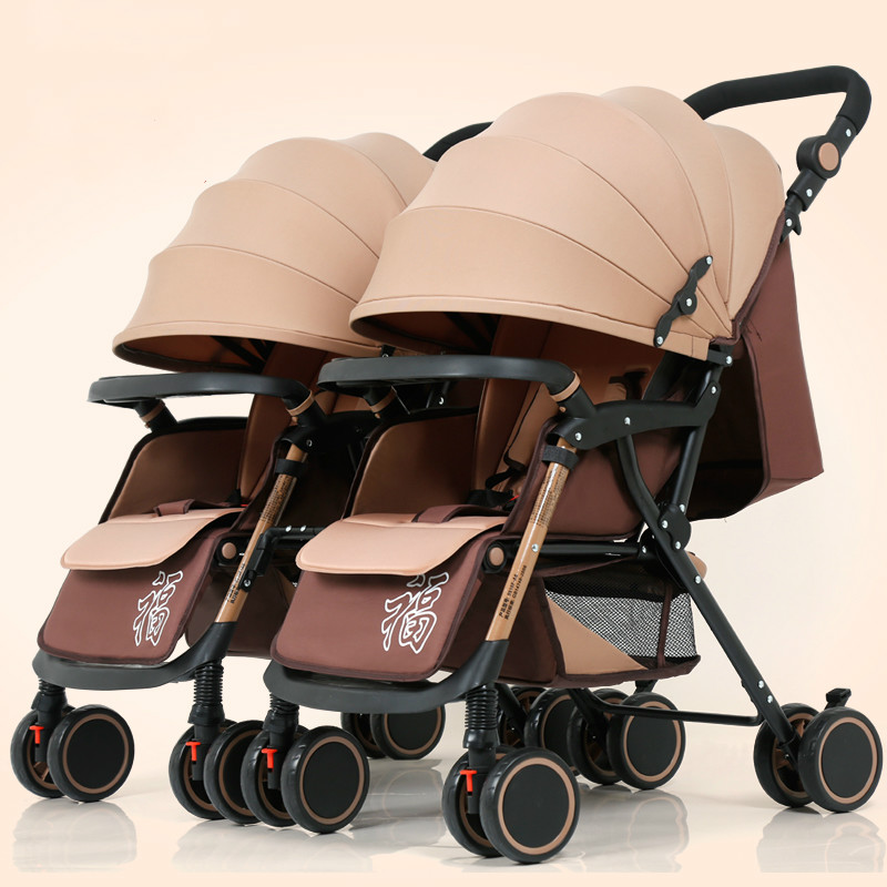 Baby Stroller 3 in 1 with Car Seat For new born baby Light Weight High Landscape Baby Carriages can sit lie fold on the plane baby stroller 3 in 1 high landscape baby carriages for kids with baby car seat prams for newborns pushchair baby car
