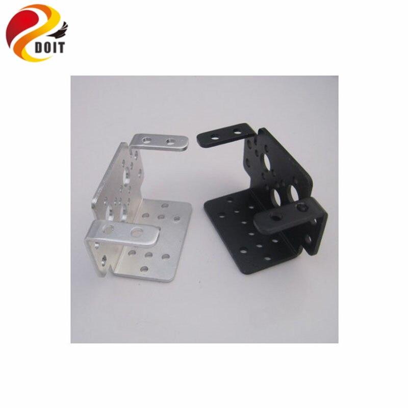 DOIT 6pcs/lot Multi-Function Servo Bracket Steering Gear Frame Servo Holder Haeundae Stent Mechanical Arm DIY Kit