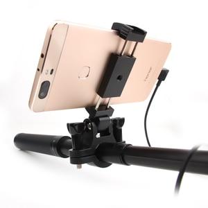 Image 5 - Telefon Halterung Halter Smartphone Halterung Adapter Clip Für DJI Osmo Tasche Erweiterung Pole Telefon Clip Handheld Gimbal Zubehör