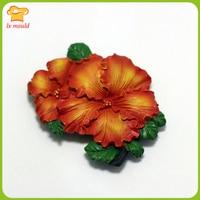 2018 New Beautiful Flowers Silicone Cake Mold High Quality Liquid Silicone Mold DIY Baking Fondant Tools