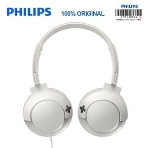 Image 4 - フィリップスSHL3075プロ低音ヘッドフォンワイヤー制御ノイズリダクションヘッドバンド三星銀河S8/S9/S9Plus