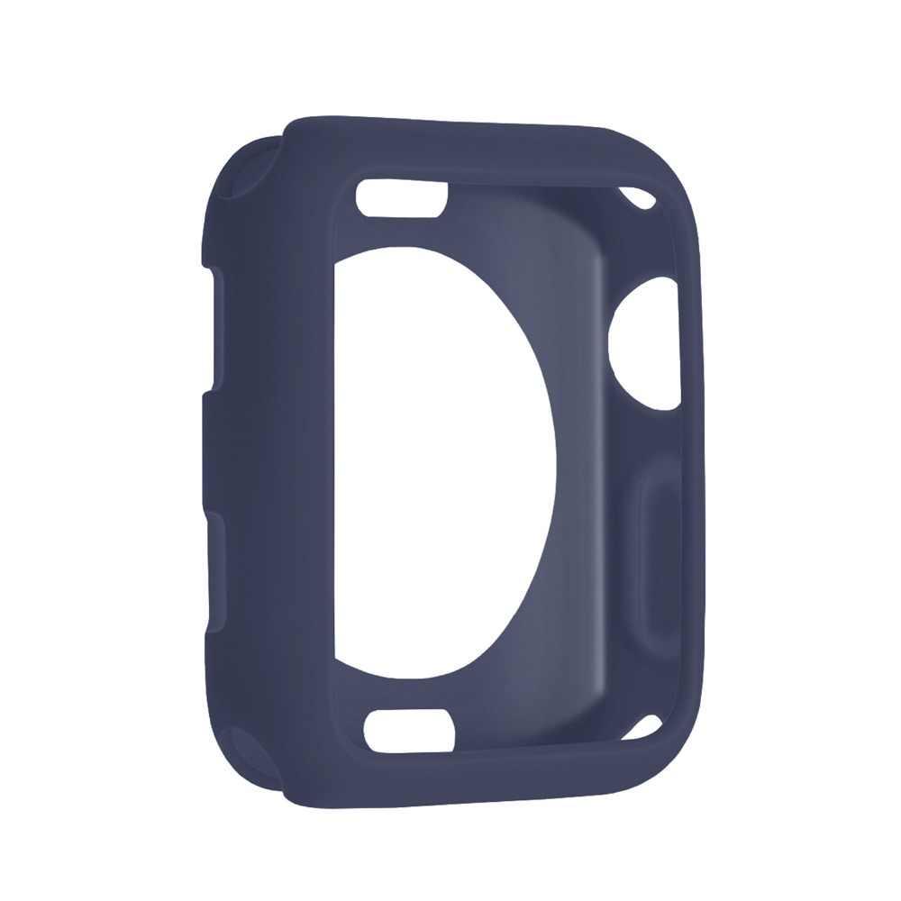 Чехол из ТПУ для Apple Watch Series 5 4 3 2 1 band 38 мм 42 мм 40 мм 44 мм силиконовый стильный мягкий защитный чехол из ТПУ