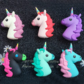 6 Colors 2600mah Unicorn Power Bank Cute Emoji Power Bank Charger For Iphone7 7plus 6 6plus 5s Xiaomi LG
