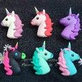 6 colores 2600 mah cargador banco de la energía banco de potencia lindo emoji para iphone7 unicornio 7 plus 6 6 plus 5S xiaomi lg