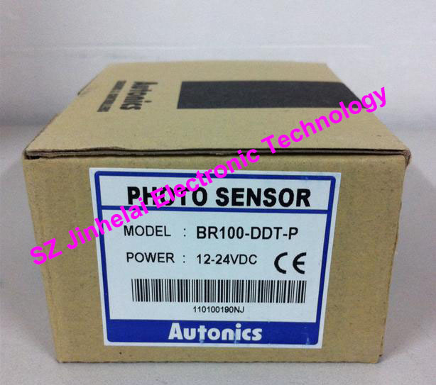 BR100-DDT , BR100-DDT-P Authentic original AUTONICS PHOTOELECTRIC SWITCH 12-24VDC original authentic sensor byd100 ddt