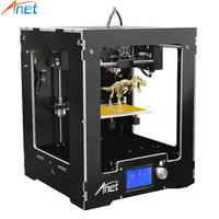 Anet A3 3D Printer Full Aluminum Plastic Frame Assembled LCD Display 16GB TF Card Off Line