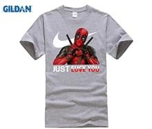 Men and women tshirt Deadpool love you t shirt Deadpool superhero t-shirt