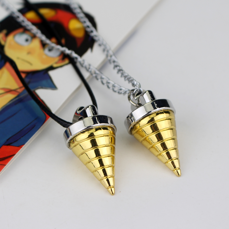 Tengen Toppa Gurren Lagann Core Drill Necklace Simon Anime Cosplay