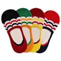 Increíble Invisibile Calcetines Cortos del Verano de Los Hombres Mezclas de Algodón Antideslizante Calcetines 4 Colores de la Nueva Llegada