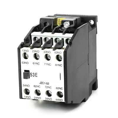 цена на JZC1-53 AC Contactor Type Relay 110V 50Hz Coil Voltage 3-Phase 5NO + 3NC