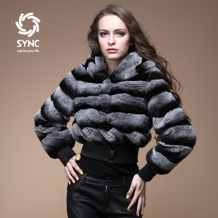 Aliexpress.com : Buy Popular New fur coat,Fashion Chinchilla style ...