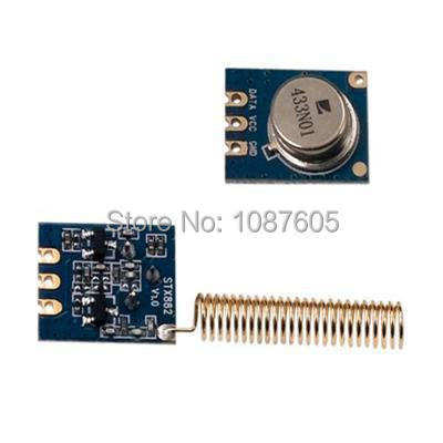 2pcs/lot 433MHz 315MHz Wireless ASK RF Transmitter Module - STX882