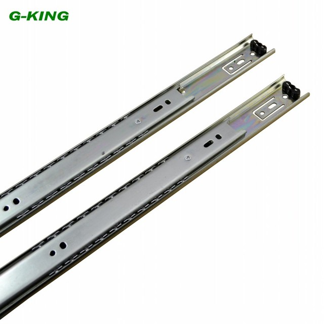 Superb The Two Section Ball Bearing Drawer Slide Guide Rail Track Width Of 27mm  Furniture Mechanical Cabinet