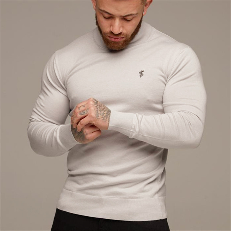 offer discounts coupon code buying cheap 2019 Men Long Sleeve Casual Embroidered Cotton Tops Classic ...