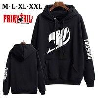 Anime Fairy Tail Unisex Baseball Hooded Coats Zipper Jacket Sweatshirts Tops Winter Warm Men Women Cosplay Xmas M XXL