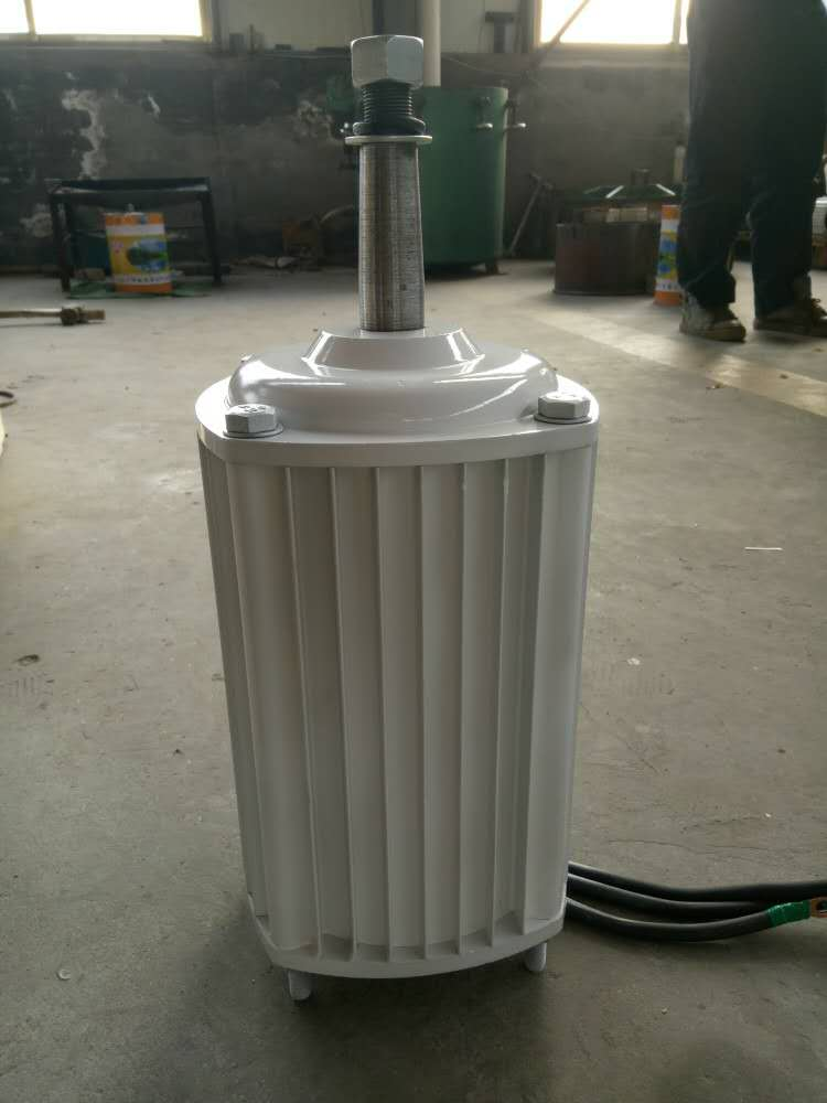 2.5KW/2500W 96V/220V/380V 350RPM low rpm horizontal wind & hydro alternator/ permanent magnet water power dynamotor turbine