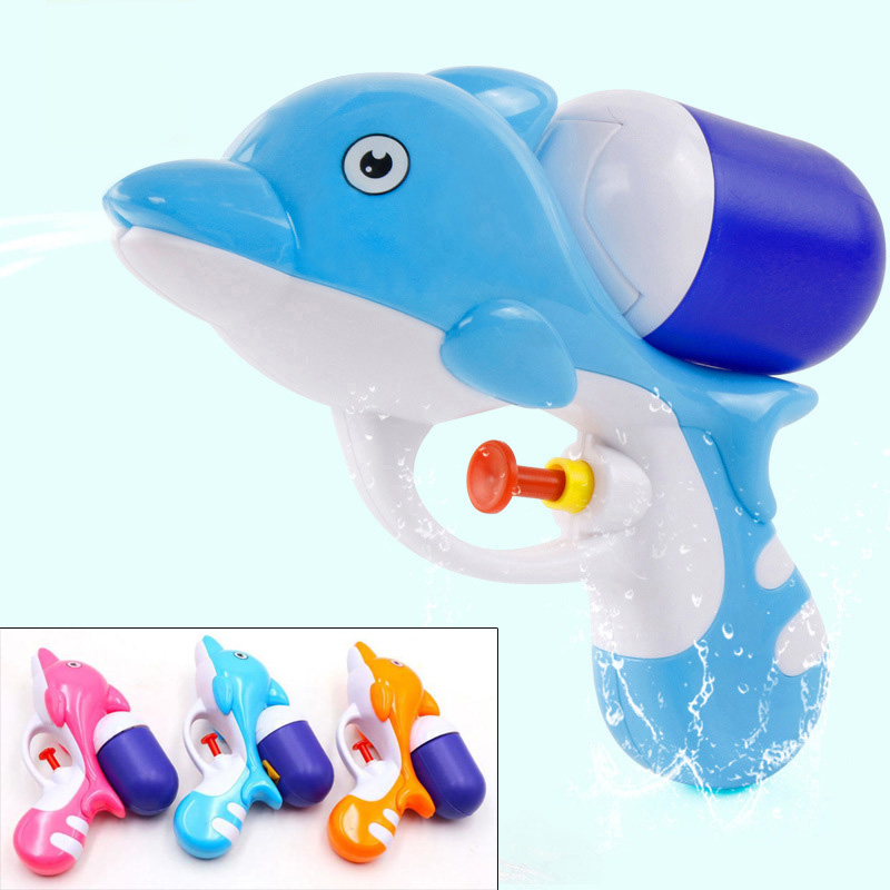 Kid Mini Squirt Water Toy Dolphin Water Blasters Summer Beach Toy For Childeren FJ88