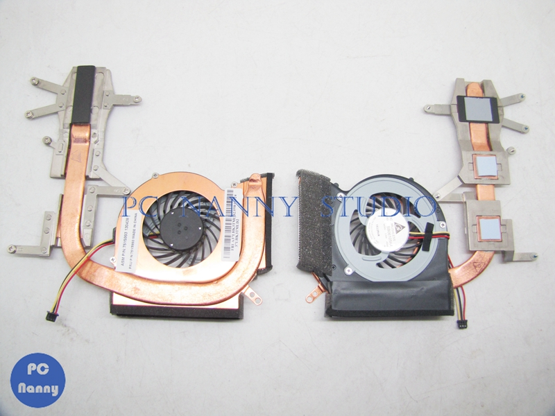 Computer Components Hearty For Thinkpad E40 E50 Fan & Heatsink Assembly Radiator Cooler 75y5993 Handsome Appearance