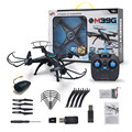 Drone Headless M39GW 2.4G 6-axis Gyro 4CH Cámara HD WiFi FPV RC Quadcopter Altitud Hold Mini Drone # YL