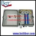 12 Ядра FTTH-Fiber Optic Box, Материал ABS Коробка, FTTH Распределительная Коробка, PLC Splitter Выбор