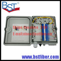 12 Cores Fiber Optic FTTH Box, ABS Material Box, FTTH Distribution Box, PLC Splitter Selection