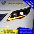 De coches de Estilo Lámpara De Cabeza para Toyota Corolla Faros 2011-2013 Altis LED Headlight Daytime Running Light Bi-Xenon HID Accesorios