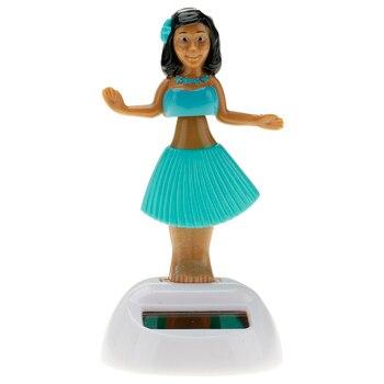 Citygirl Plastic Solar Powered Hawaii Hula Girl Swinging Dancing Toy 5