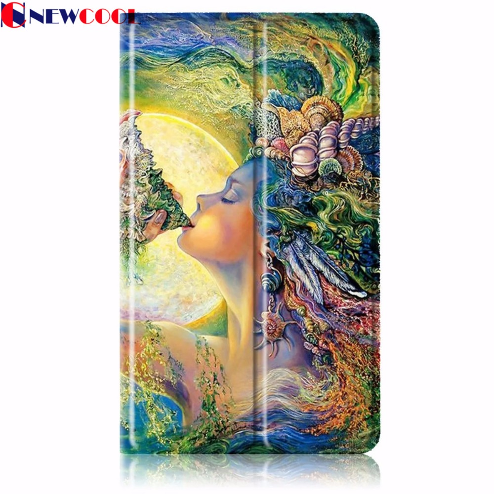 T2 pro 7.0 Magnetic Flip Cover For Huawei T2 pro 7.0 PLE-703L 7 inch Tablet Case Smart Cover Protective shell