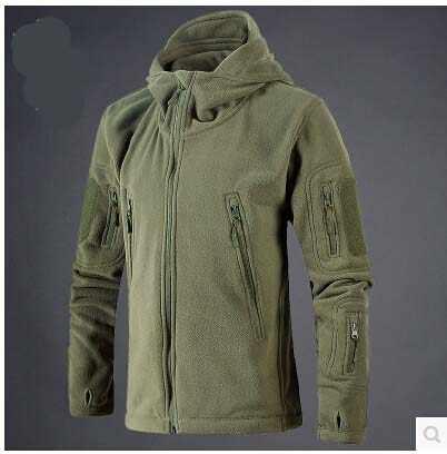 新軍事戦術屋外ソフトシェルフリースジャケット男性軍ポーラテックスポーツ熱ハントハイキングスポーツパーカージャケット