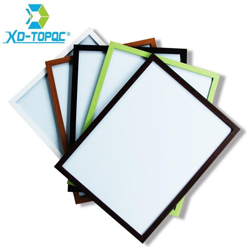 Купить xindi белая доска 35*45 см 10 цветов новые магнитные доски для
