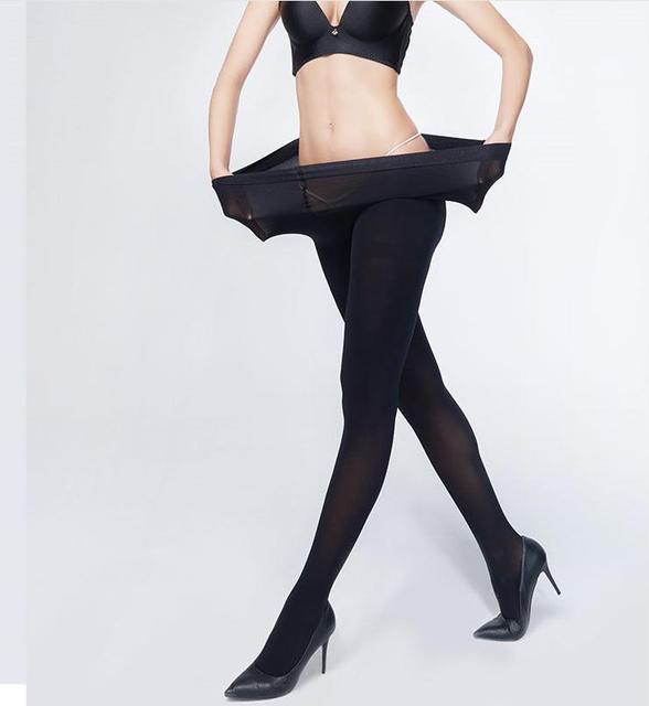 1pc Big Size Women Sexy Pantyhose,120D Velvet Spring Autumn Panty Hose,Nylon Elastic Step Foot Seamless Tights Stockings Hosiery 3