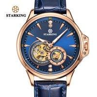 STARKING New Mens Watches Top Brand Luxury Sapphire Glass Automatic Mechanical Watch Relogio Masculino