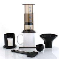 350ml 새로운 필터 유리 에스 프레소 커피 메이커 휴대용 카페 aeropress 기계에 대 한 프랑스어 보도 cafecoffee 냄비|커피포트|   -