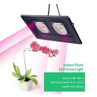 Full Spectrum LED Grow Light 100W Waterproof IP67 COB Grow LED Flood light for Plant Hydroponic Greenhouse Flowers Growing Lamp