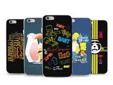 Модные лаконичные чехол для Apple iPhone 7 плюс 7 6 Plus 6S 6 5S 5 мягкий чехол ТПУ телефон Обложка Смартфон протектор