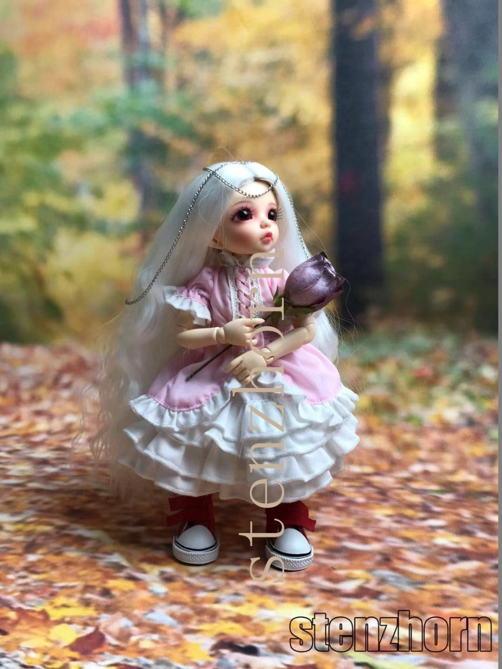 Bjd doll1 6 ANTE fashion toy birthday gift high quality free eyes two faces