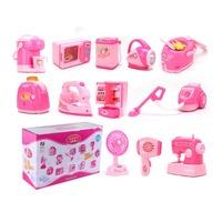 Mini Simulation Home Appliances Toys Kitchen Toys Light Sound Plastic Kids Children Play House Toy Baby Girls Pretend Play Toys