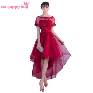 b55947b79d2 isa happy day sexy party women prom dresses short gown lace