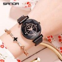 2019 Watch Women Quartz Casual wrist watches Ladies stainless steel rose gold watch Fashion Sport female watch free shiping