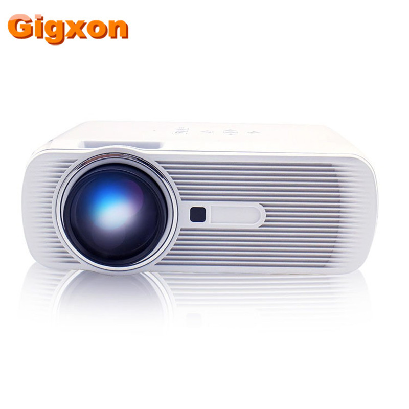 Gigxon- G80 Portable MINI LED Projector For Video Games TV Movie AV/VGA/USB/SD/HDMI/TV FULL HD Home AND OUTDOOR Theater projetor