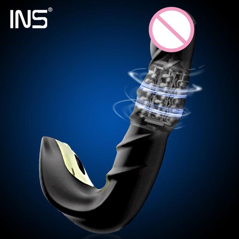 Masseur de Prostate vibrant hommes Plug Anal étanche avec moteurs puissants 20 modèles de Stimulation jouets sexuels en Silicone