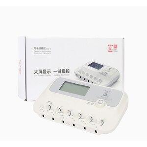Image 3 - Estimulador elétrico de baixa frequência sdz iii, tratamento de agulhas para acupuntura muscular e massageador muscular