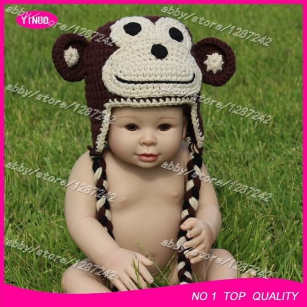 5pcslot Hot Sale Baby Hats Knitted Crochet Infant Hats Crochet