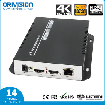ZY-EH401 4K HDMI Video Encoder H.264/MPEG4 Streaming Encoder with HDMI Loop-out Support HTTP RTMP RTSP FLS FLV ONVIF Multicast