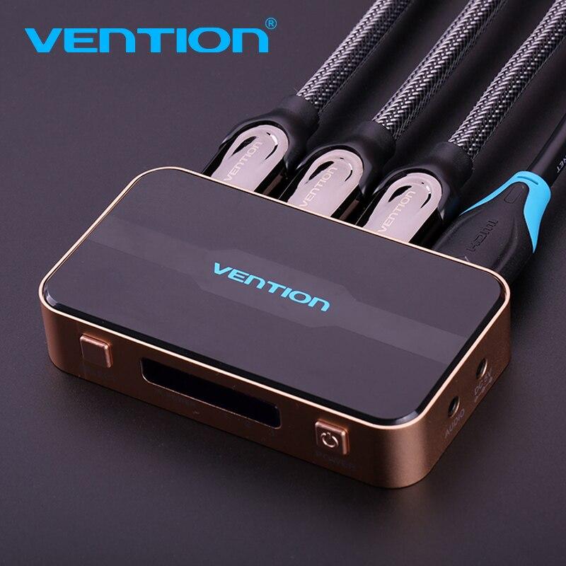 Convention 3 Port Commutateur HDMI Switcher HDMI Splitter HDMI Port pour PS3 PS4 pour Xbox 360 pc DV DVD HDTV 1080 p 3 Entrée à 1 Sortie