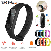 NEW Smart Sport Watch Heart Rate Monitor OLED Screen Fitness Tracker IP67 Waterproof Smart Band for iphone Android PK Mi Band 2