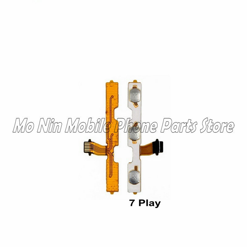 New Power On/off & Volume Up/down Buttons Flex Cable Replacement For Huawei Honor Play 7 7A 7C 7X Phone